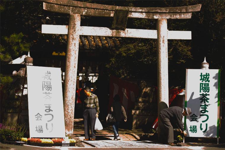 茶祭り荒見神社